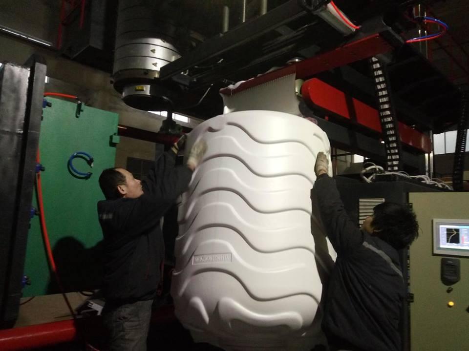 1000L 3layers water tank machinery