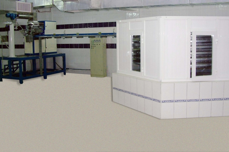 FULL AUTOMATIC SUGAR CUBE MACHINE - 25 TONS / DAY