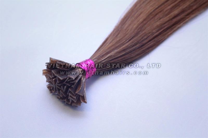 V-tip hair extensions