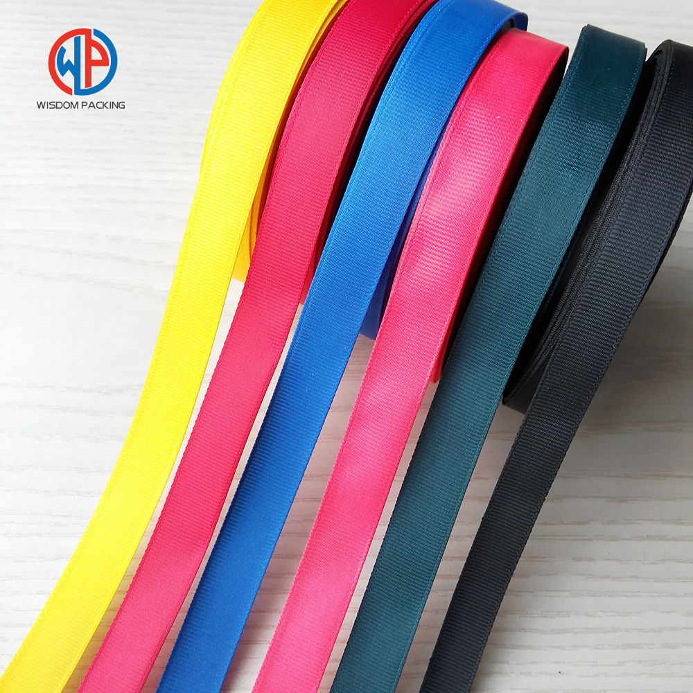 Wholesale 100% polyester grosgrain ribbon