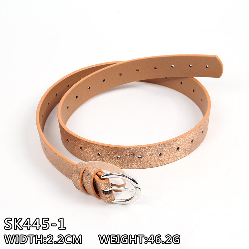 2017 fashion belt PU leather belt lady belt skinny belt