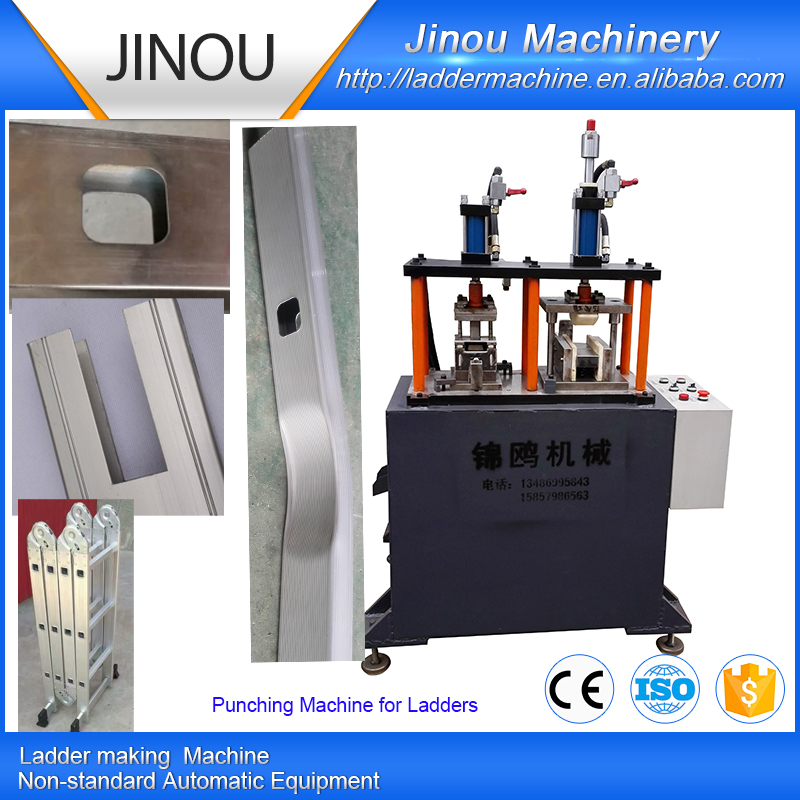 Hydraulic Holes Punching machines for Multifunctional ladders