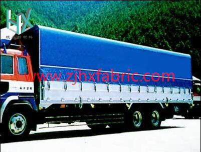 Truck Cover side curtain coated vinyl fabric lona awning