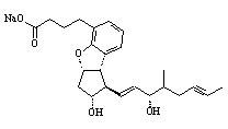 Beraprost sodium