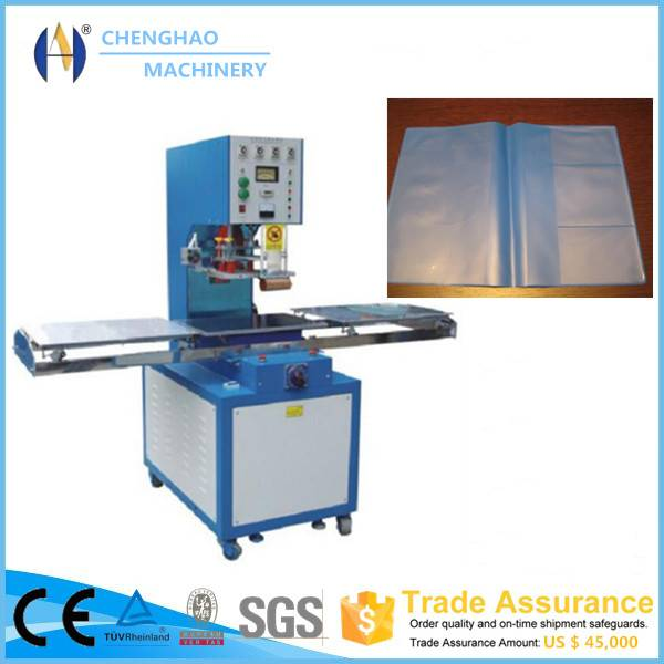5-10kw single station high frequency pvc book cover welding machine