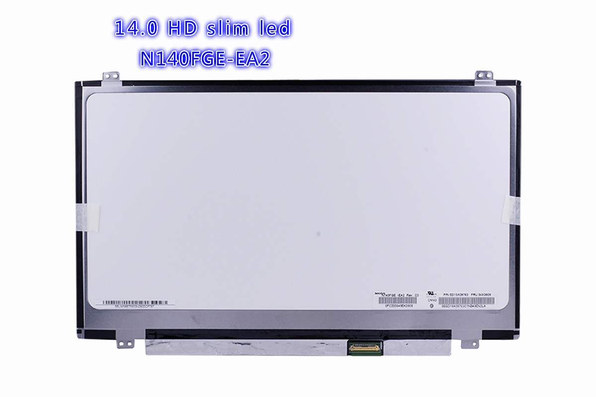 14.0 slim 30pin LED Display N140FGE-EA2 N140FGE-E32 B140RTN03.0 1600x900 30pin