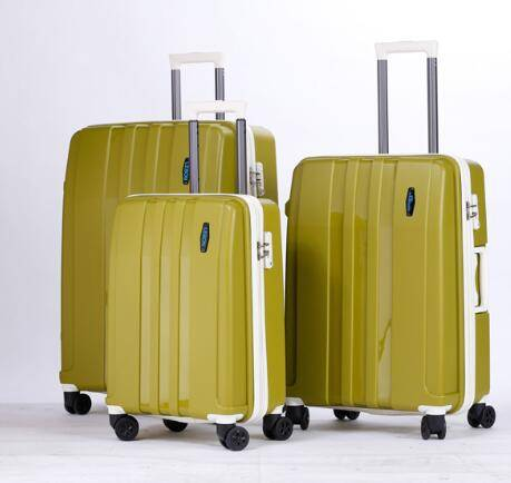 Hardside spinner polypropylene 22,26,30 inches PP luggage sets hard shell bag/PP luggage/hard shell