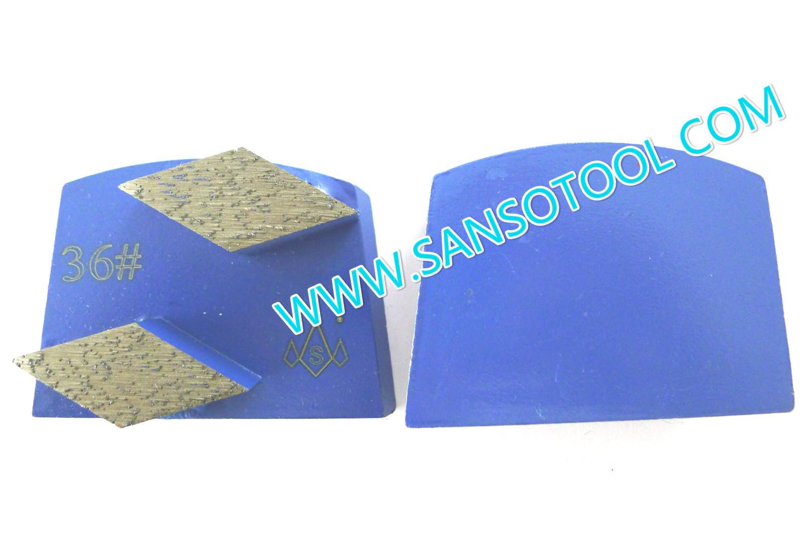 Trapezoid Diamond Grinding Block