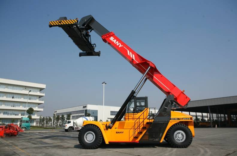 25 tons super container reach stacker