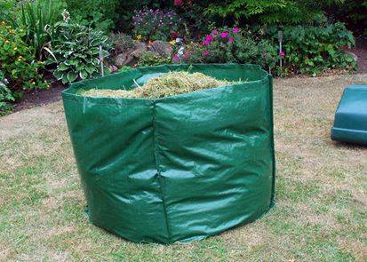 garden with PP fabric tarpaulin  bag