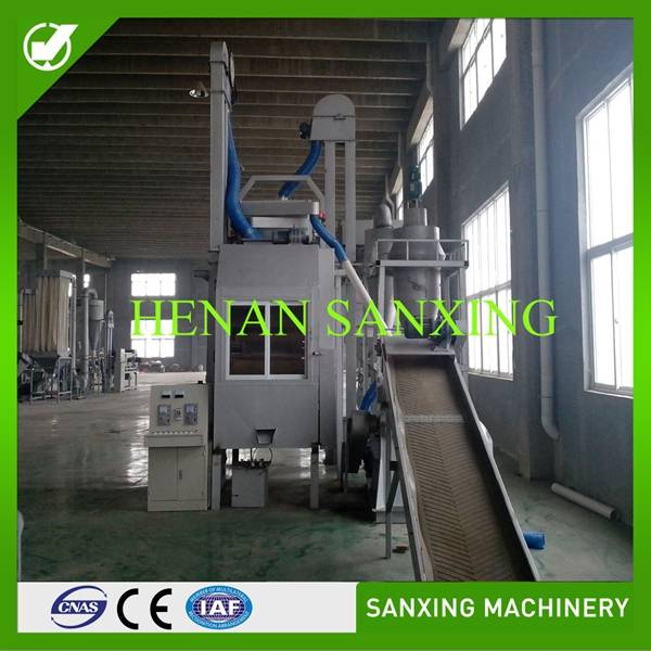 Physical recycling methods for waste motherboards , motherboards recycling plant