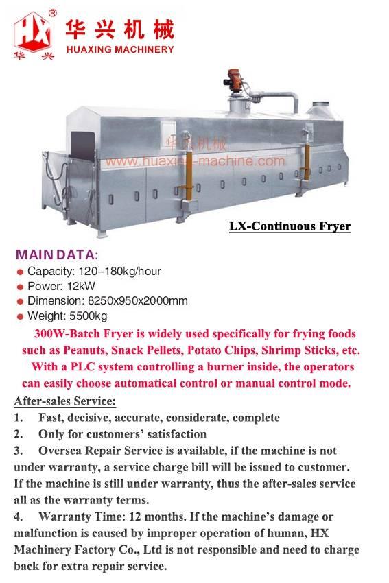 LX-Continuous Fryer