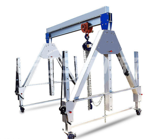 Portable mobile gantry crane is suitable for various explosion-proof and clean environments