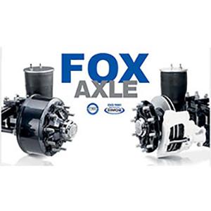 FOX trailer axle