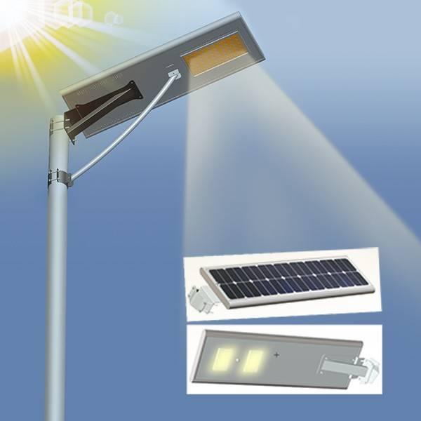 All In One Solar LED Street Light with Motion Sensor