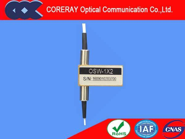 Mechanical Optical Switches 1x2 Fiber Optic Switch