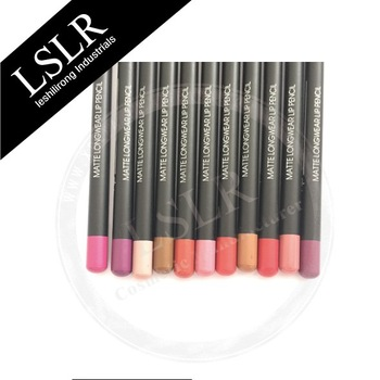 Cosmetic waterproof New style wooden lipliner Pencil