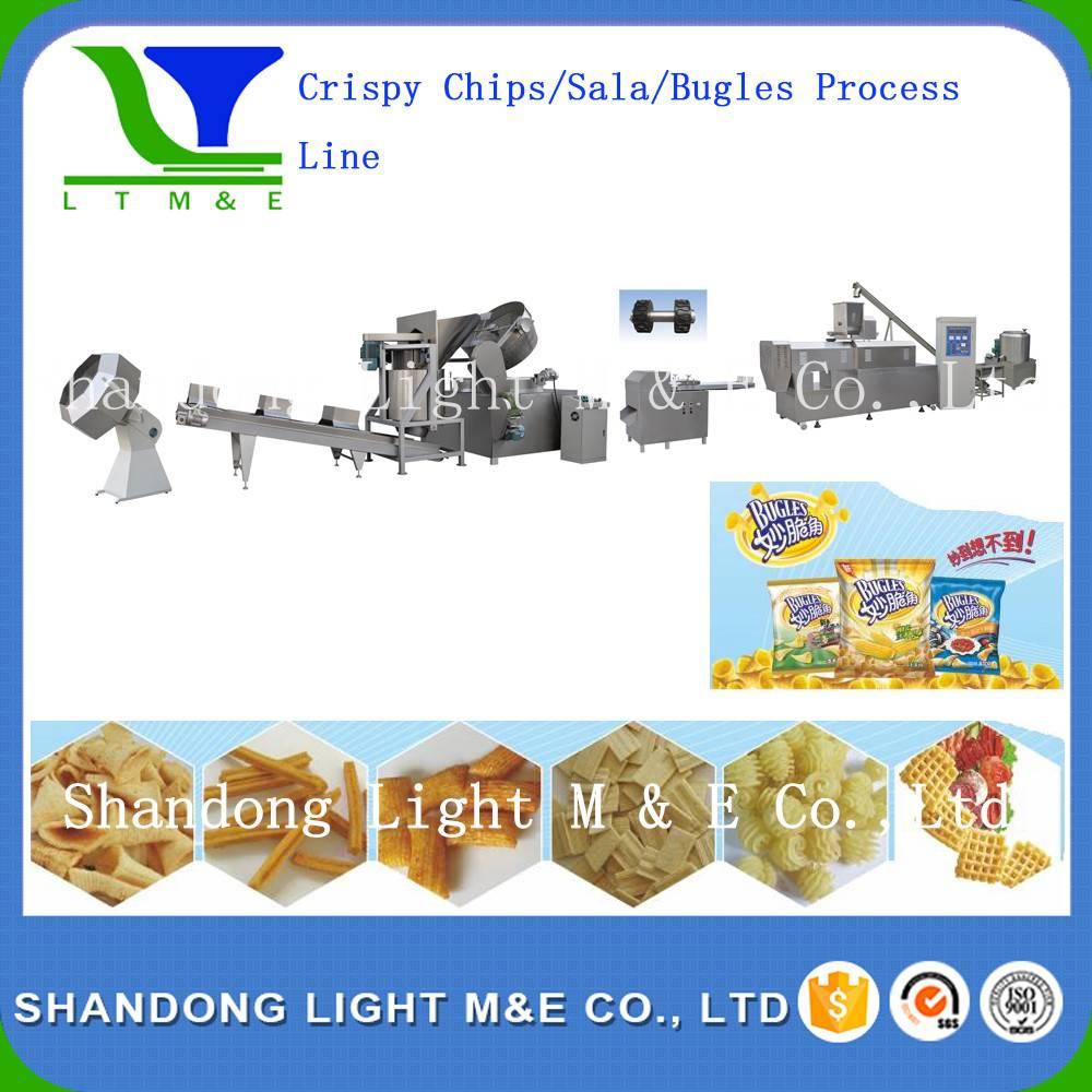 Crispy Chips/Bugles/sticks Process Line