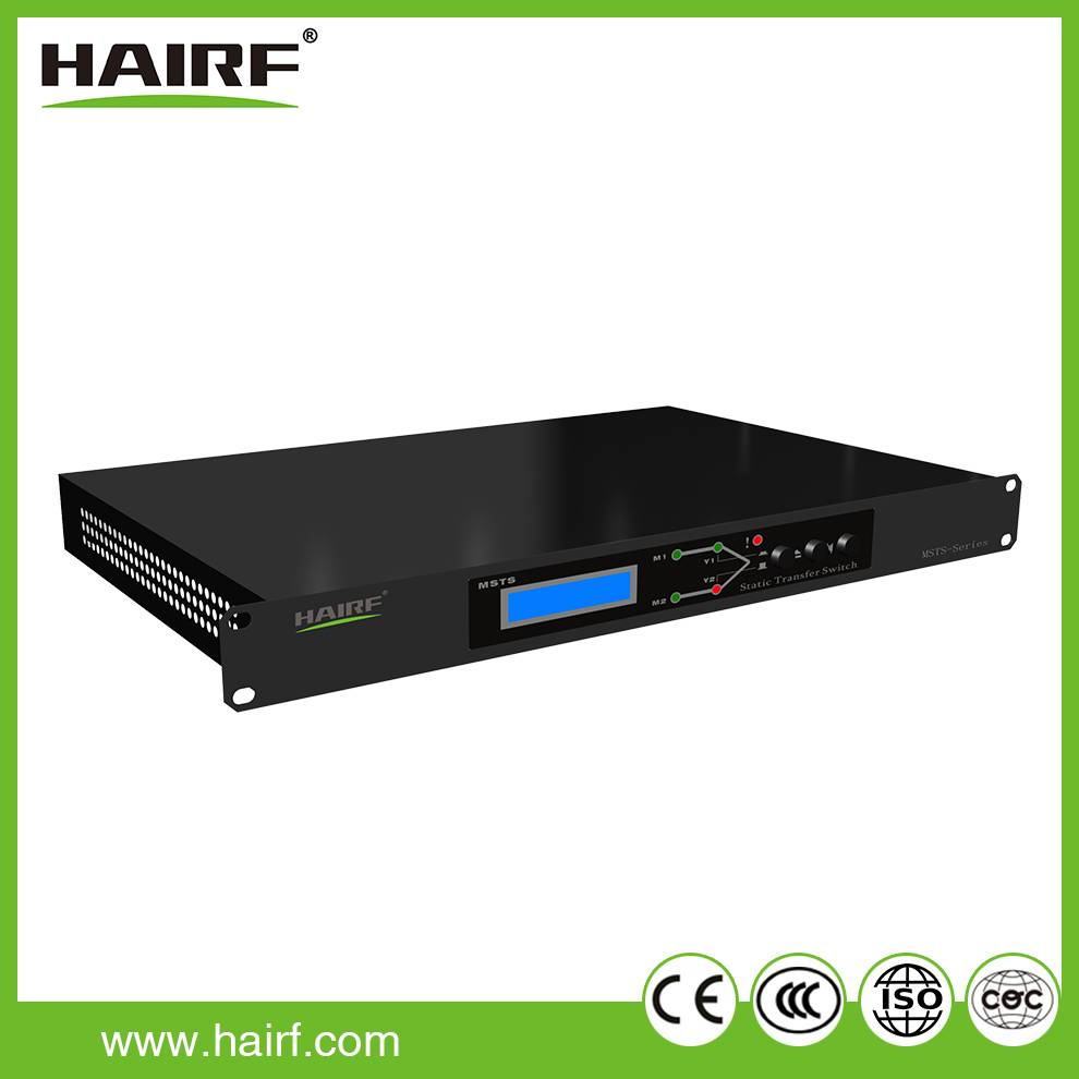 Hairf single phase automatic static transfer switch (STS)