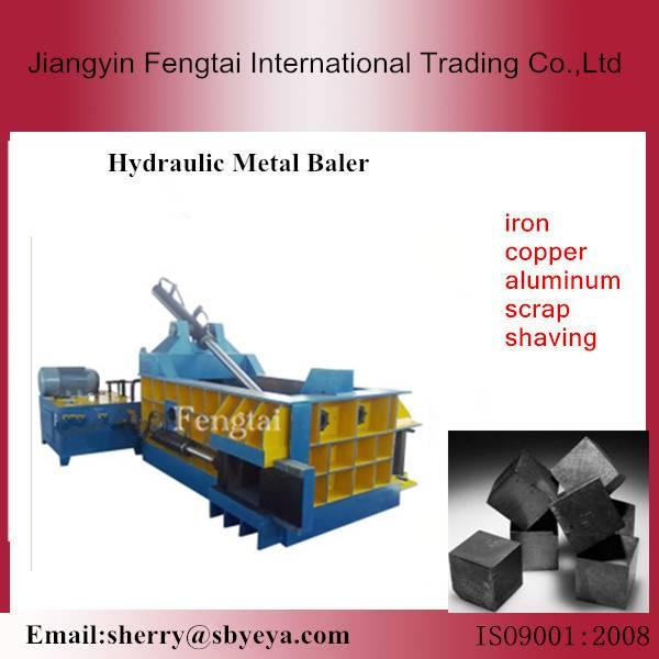 hydraulic scrap metal baler