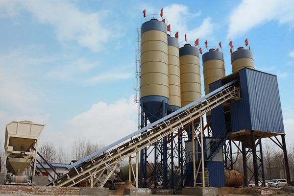 Dry Concrete Batching Plant