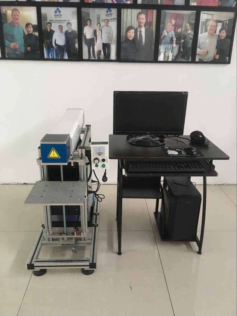 Stand type CO2 laser marking machine