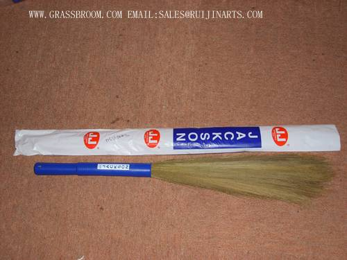 FLOWER BROOM,FLOWER BROOM STICKS,FLOWER STICK BROOM,GRASS BROOM,WILLOW BASKET,BAMBOO FENCE,WOOD BASK