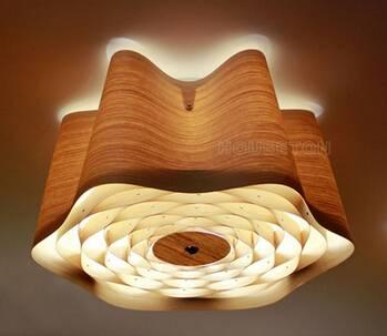2015 modern ceiling lamp,modern ceiling light,wood ceiling light C1009-60