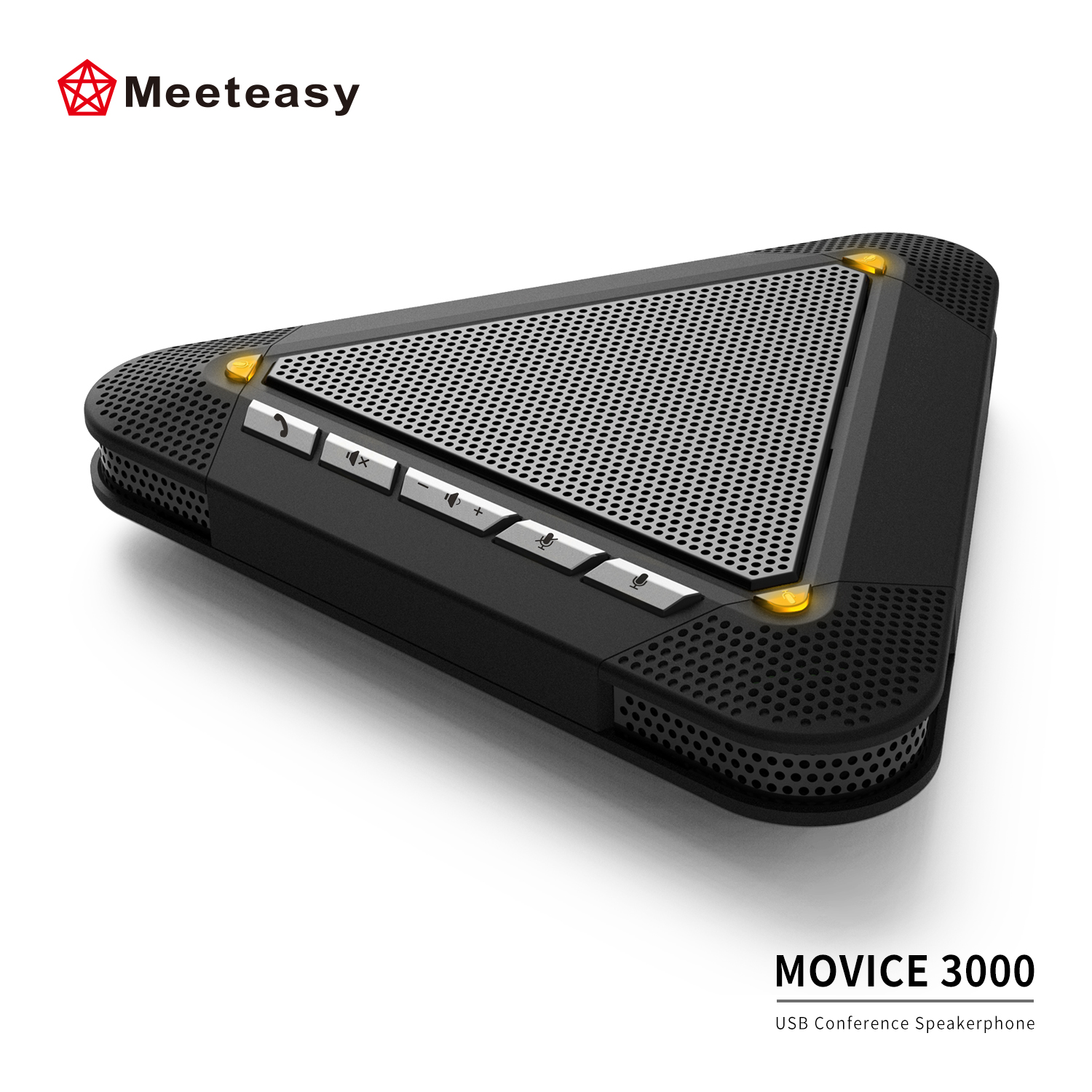 Meeteasy MVOICE 3000 PC Laptop USB Conference Speakerphones for AV Sound Call