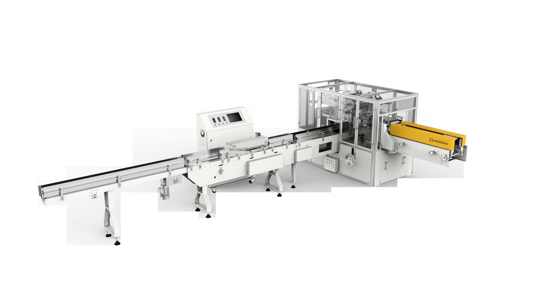ZB300F facial tissue single packaging machine