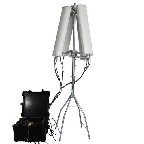 High Power WIFI GPS 433 MHz Drone Jammer (up to 2500m)