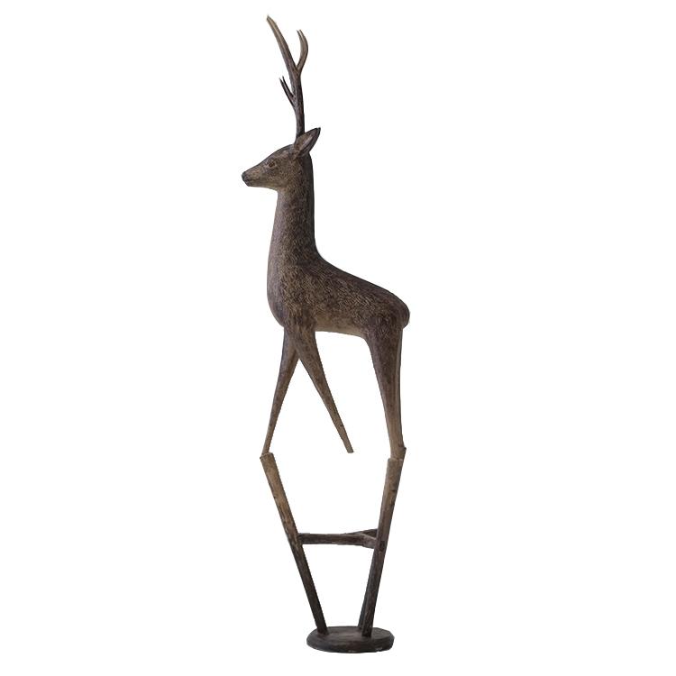 Branze sculpture Name: Deer