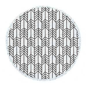 RS21 Simple round towel