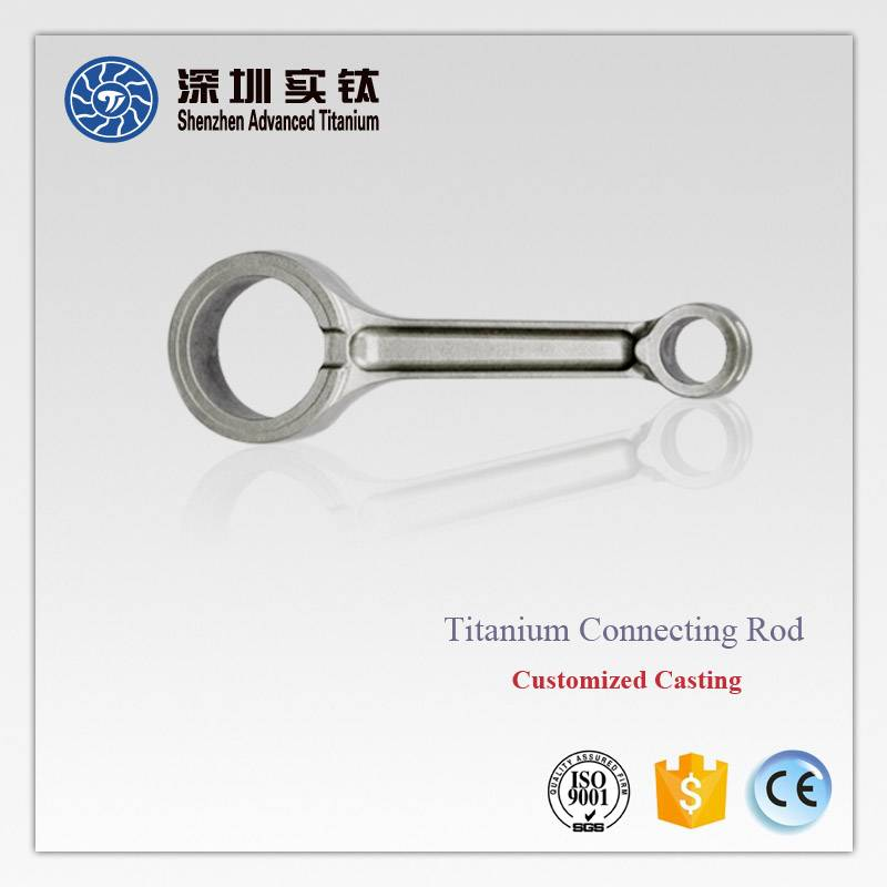 Titanium car/ automobile engine/ motor connecting rods