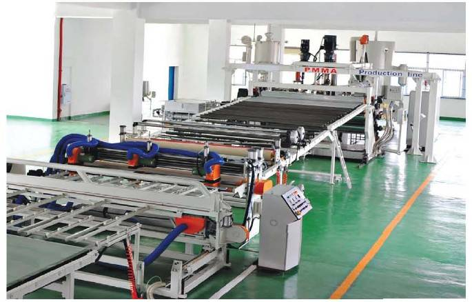 PC/PMMA/GPPS/APET Plastic Sheet&Plate Extrusion Line