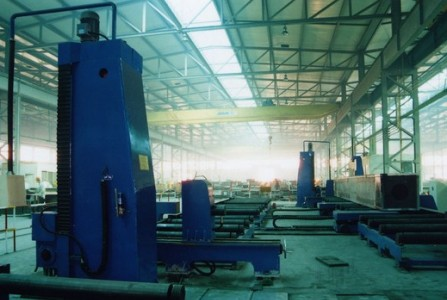 Box column or H beam end face milling machine