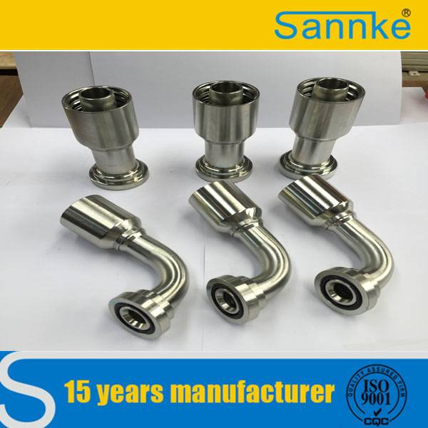 Forged Hydraulic Hose Female One Piece Fitting