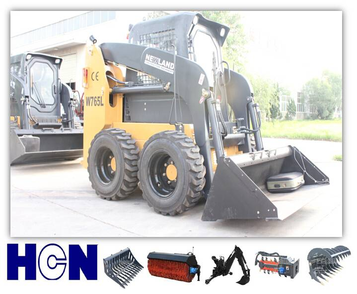 NEWLAND new model W765 brand new skid steer loader