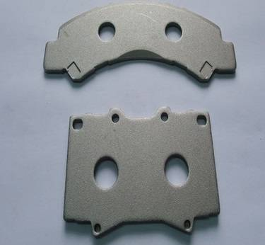 back plate for brake pad