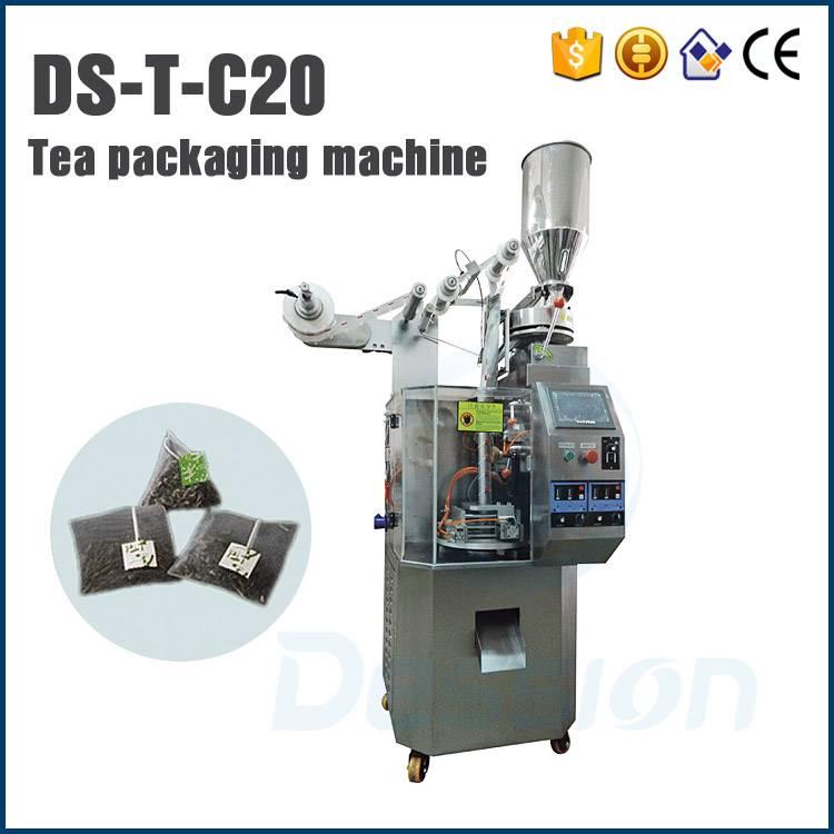 piramidal bag tea packing machine
