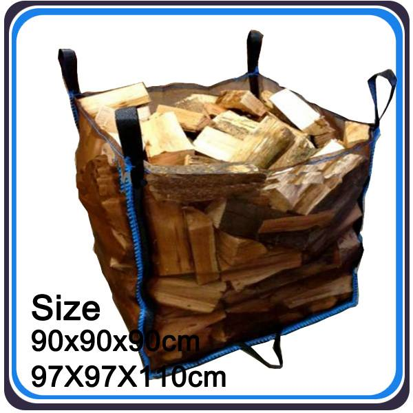 high quality vented 1000kg firewood bag from China factory