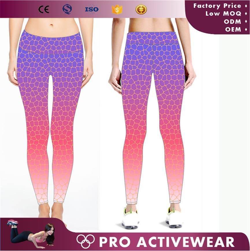 Hot sale wholesale custom dri fit fitness leggings, yoga pants womens