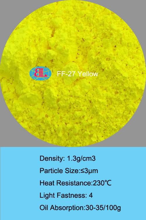 Solvent Resistance/Heat Resistance/Mirgation Resistance Daylight Organic Fluorescent Pigment-Yellow