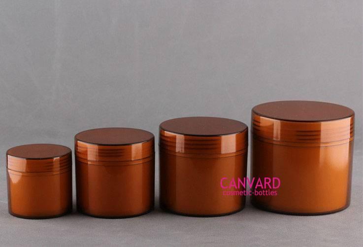 Double wall cream jars, cosmetic jars, empty cream jar