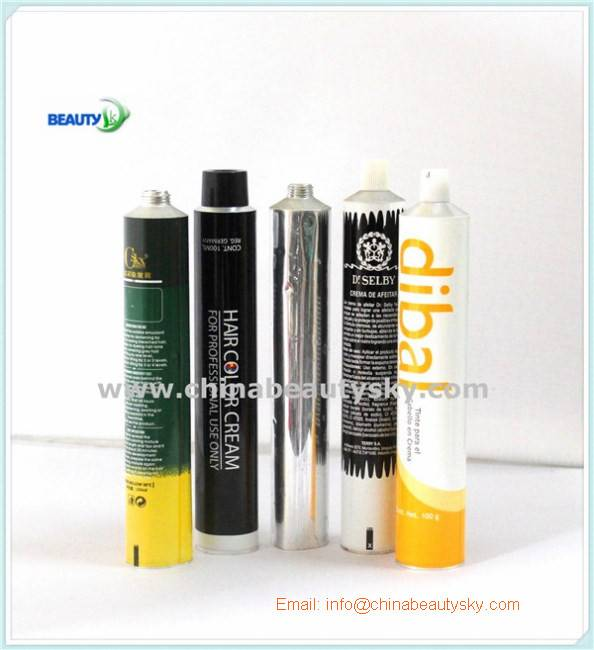 Soft Collapsible aluminum tubes