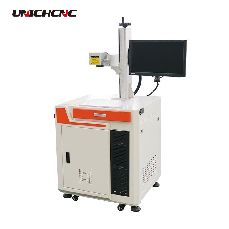Jinan low cost fiber laser marking machine for metal