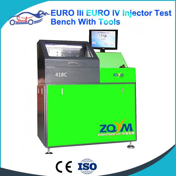 Common Rail Injector Test Bench ZQYM 418C injectors Testing Stand