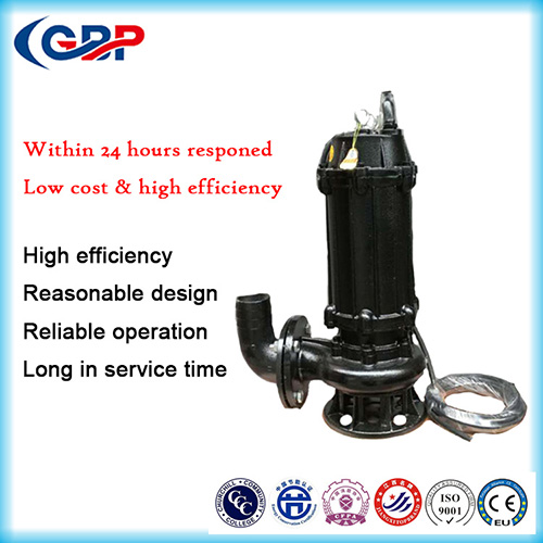WQ Series Submersible Sewage Pump 100WQ80-35-15