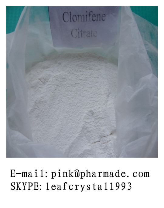 Anti-estrogen Powder Clomifene citrate for gynecologic diseases