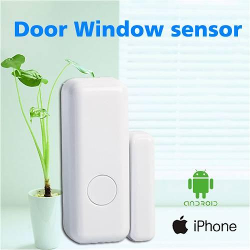 Wireless magnetic door sensor window/door alarm sms door alarm